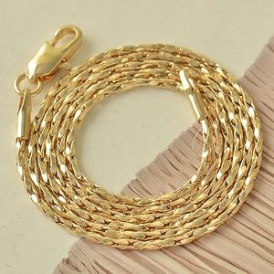 BEAUTIFUL 9K GOLD FILLED CHAIN NECKLACE